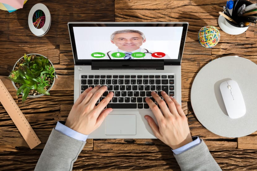 Doctor consultation over the internet via telemedicine